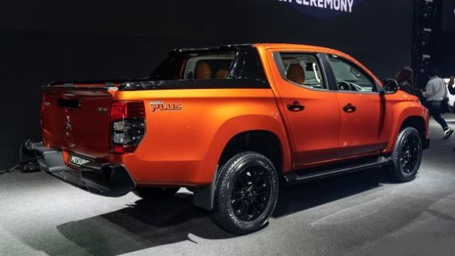 2021 mitsubishi triton is getting ready for a minor