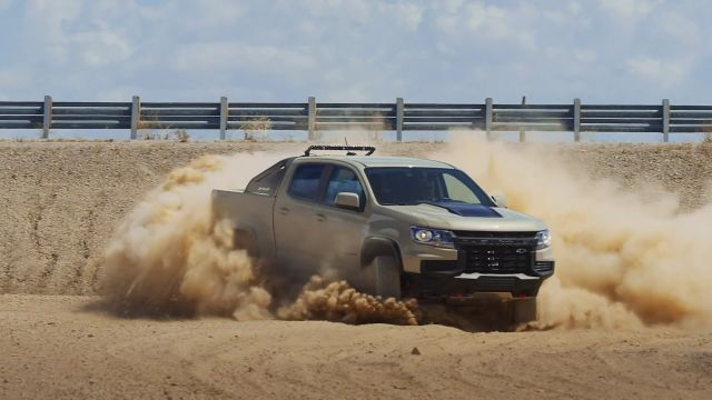 2021 Chevrolet Colorado ZR2 side