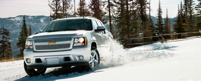 2021 Chevy Avalanche front