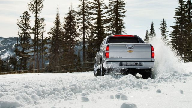 2021 Chevy Avalanche rear