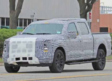 2021 Ford F-150 spy photo