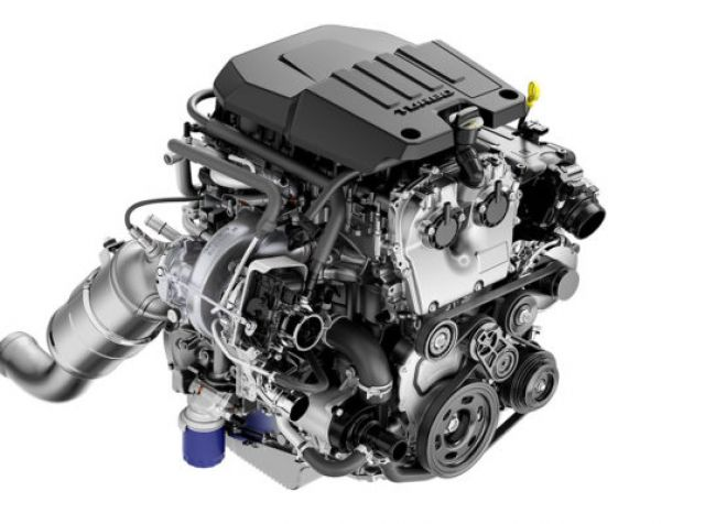 2021 GMC Sierra engine
