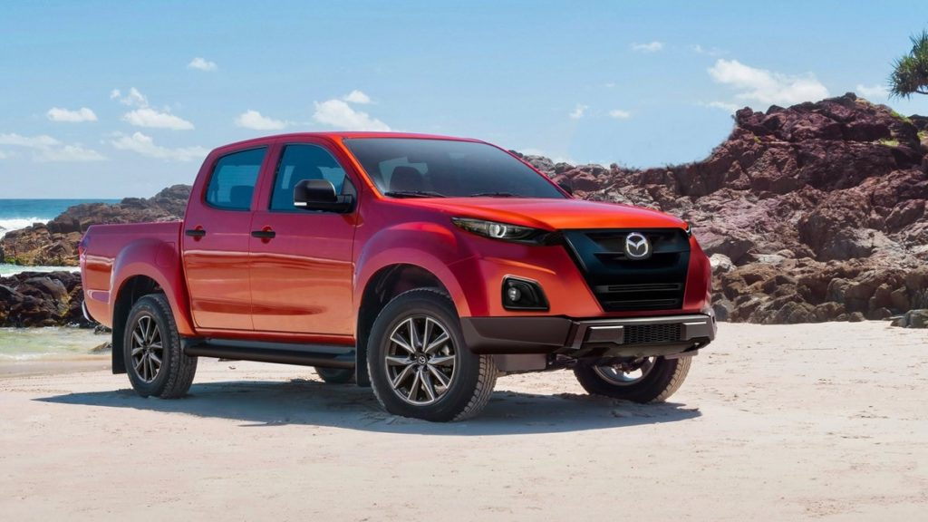 2021 mazda bt50 rendering photos rumors  2021 truck