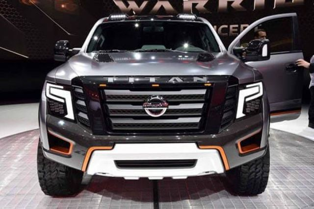 2021 Nissan Titan Warrior