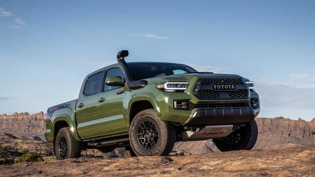 2021 Toyota Tacoma TRD PRO front
