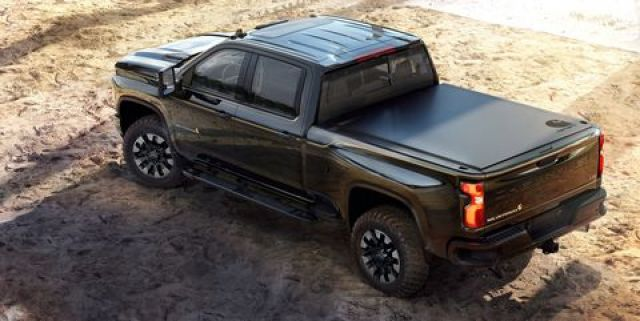 2021 Chevy Silverado HD Carhartt rear