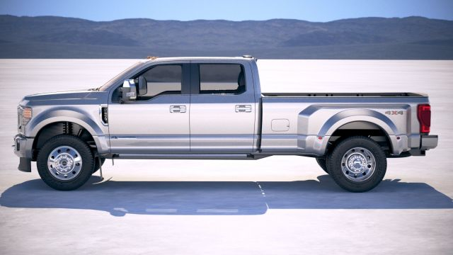 2021 Ford F-450 side