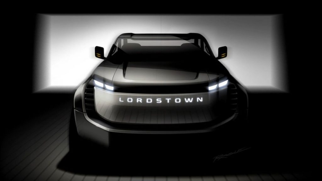 2021 Lordstown Endurance front