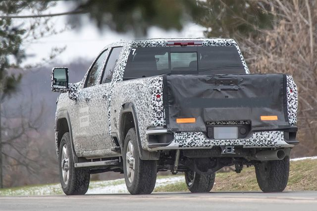 2021 GMC Sierra 2500HD rear look