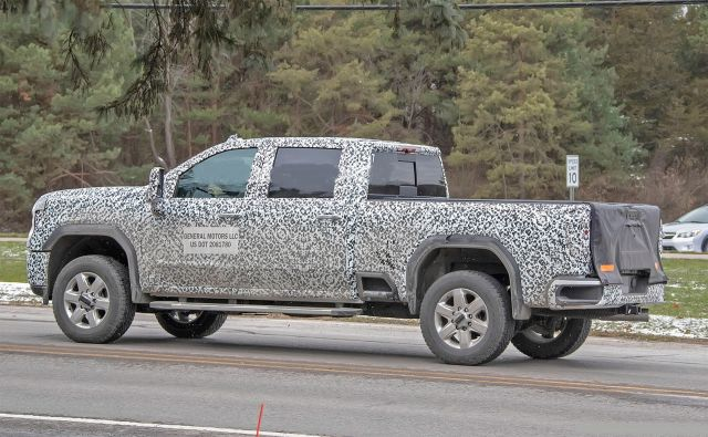 2021 GMC Sierra 2500HD rear
