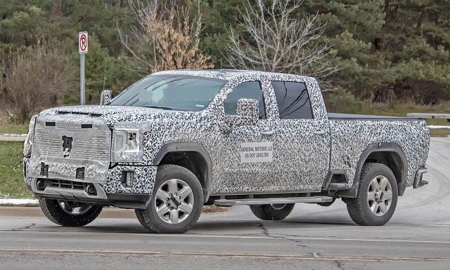 2021 GMC Sierra 2500HD side