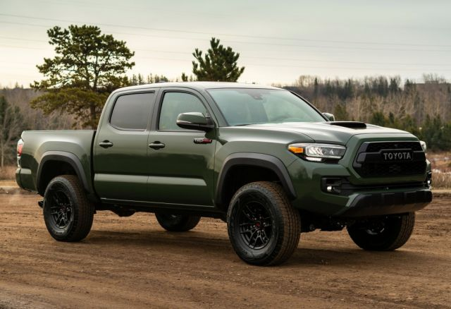 2022 Toyota Tacoma side