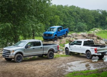 2021 Ford Super Duty all models