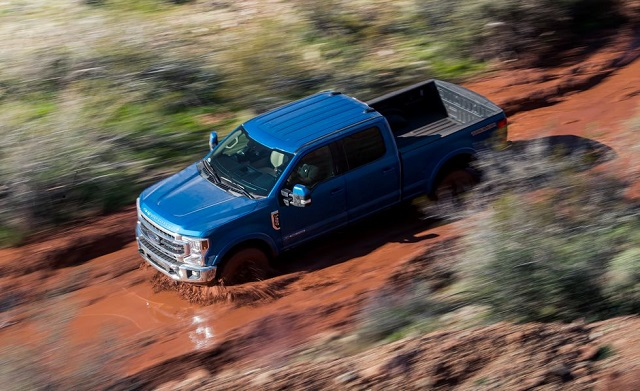 2021 Ford Super Duty front