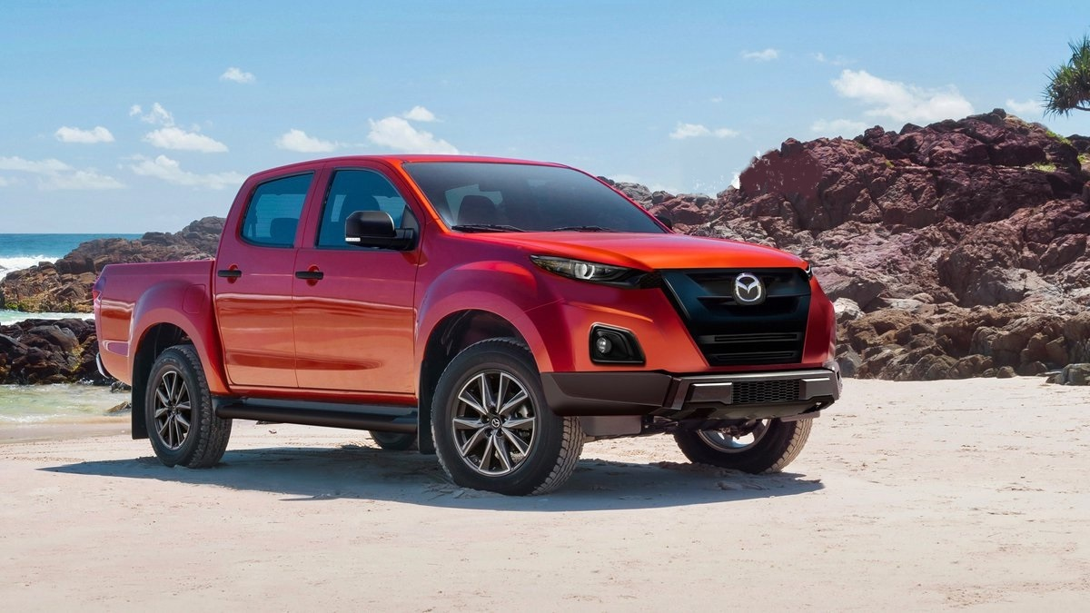 2021 mazda bt-50 is ready to receive a new look