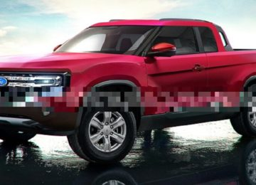 2022 Ford Courier front