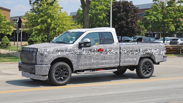 2022 Ford F250 front