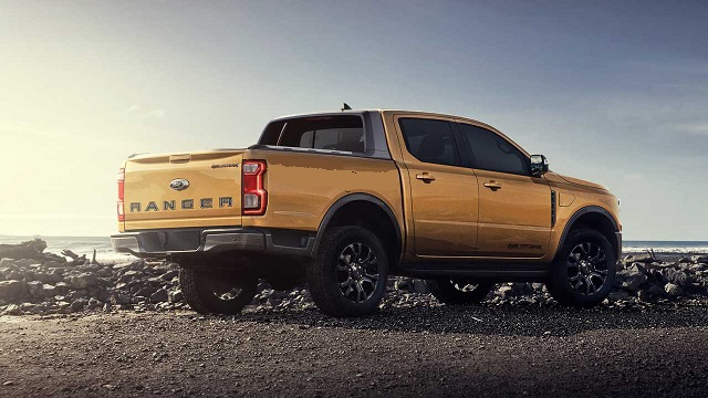 2022 Ford Ranger Plug-In Hybrid rear