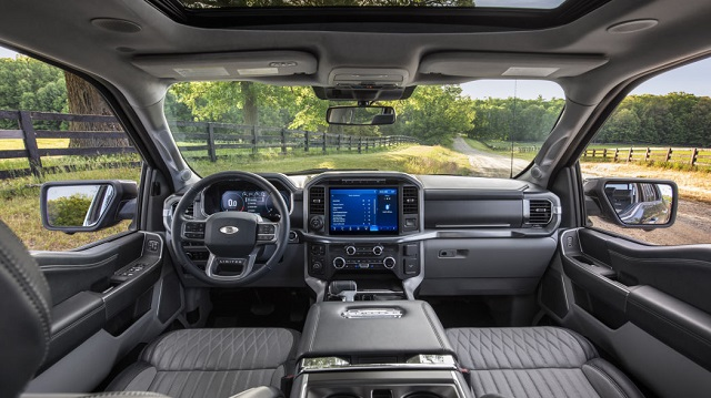 2021 Ford F-150 Limited 4x2 SuperCrew cabin