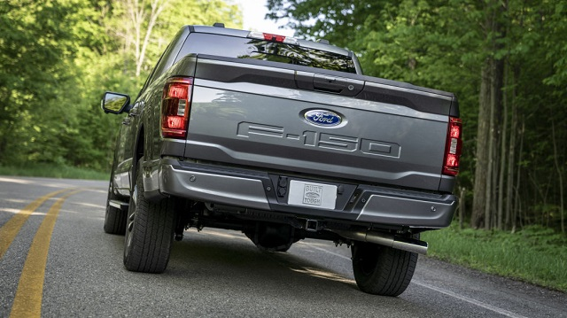 2021 Ford F-150 Limited 4x2 SuperCrew rear