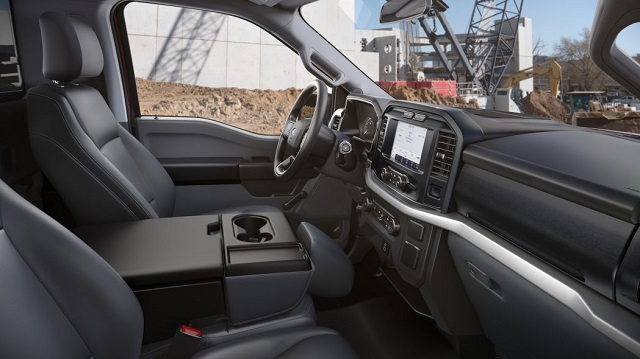 2021 Ford F-150 Limited 4x2 SuperCrew seats