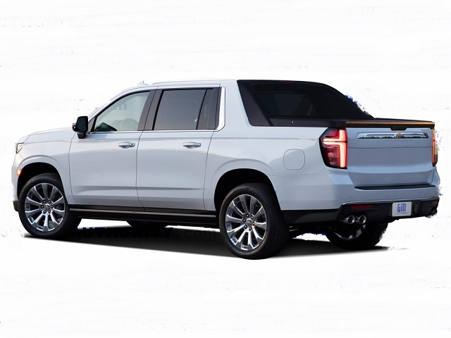 2022 Chevy Avalanche rear