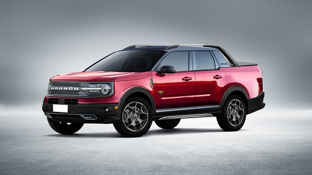 2021 Ford Bronco Sport Pickup