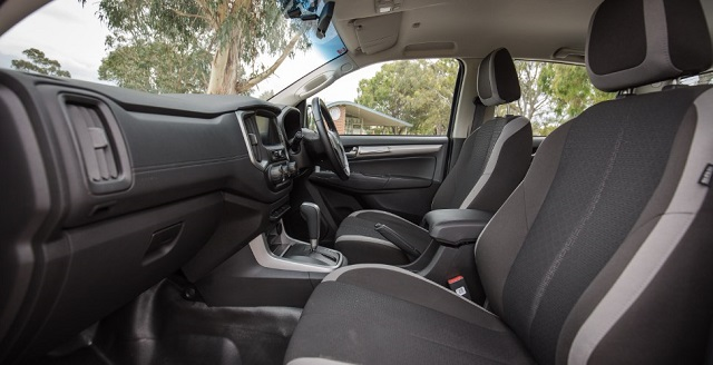 2021 Holden Colorado cabin