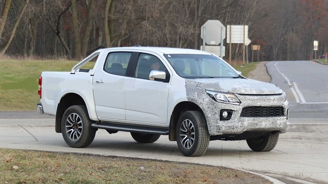 2021 Holden Colorado side