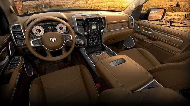 2021 Ram 1500 Limited Longhorn 10th Anniversary Edition interior
