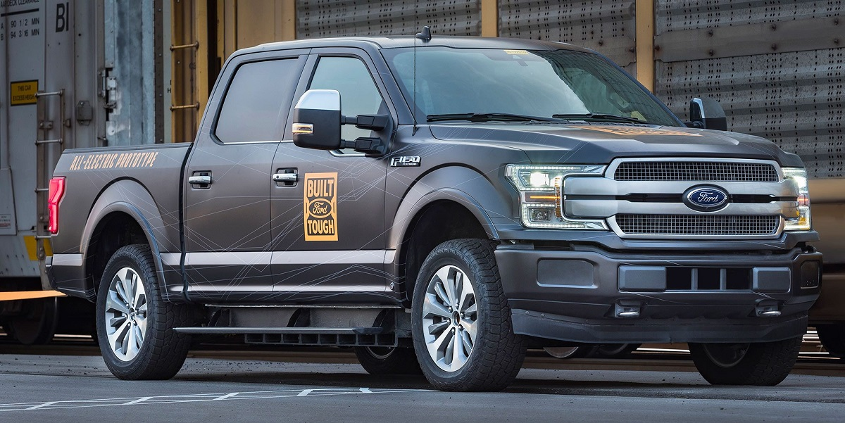 2022 Ford F-150 Electric side