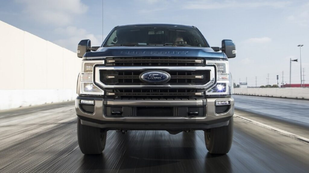 2022 Ford F-350 front