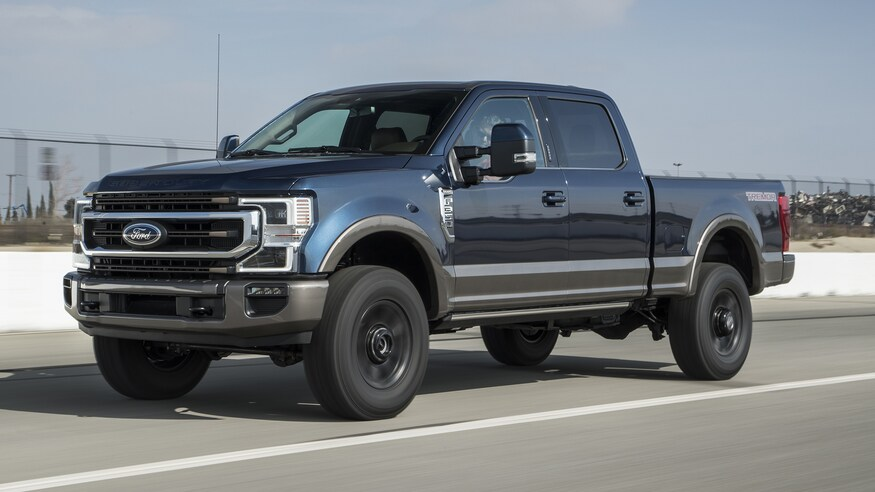2022 Ford F-350 side