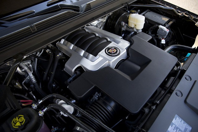 2022 Cadillac Escalade EXT engine