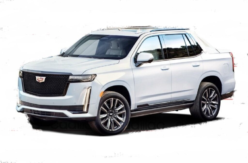 2022 Cadillac Escalade EXT front look