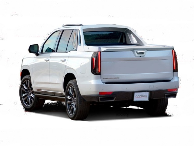 2022 Cadillac Escalade EXT rear