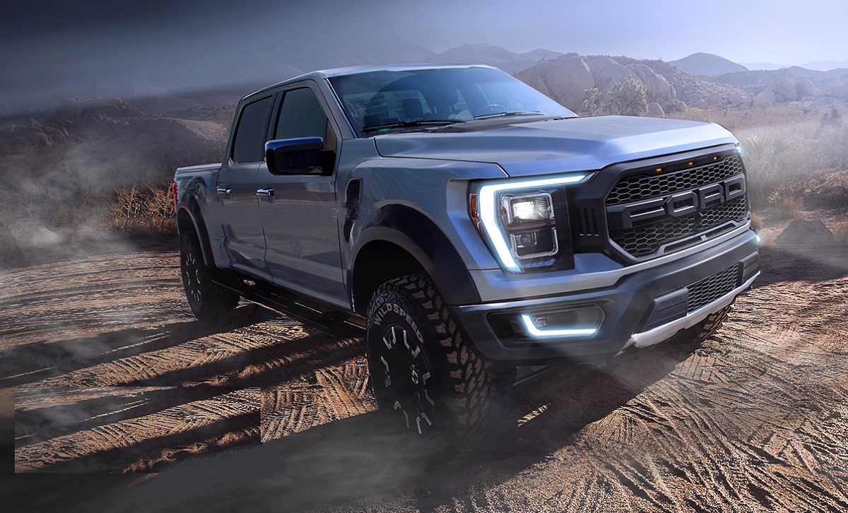 2022 Ford F-150 front