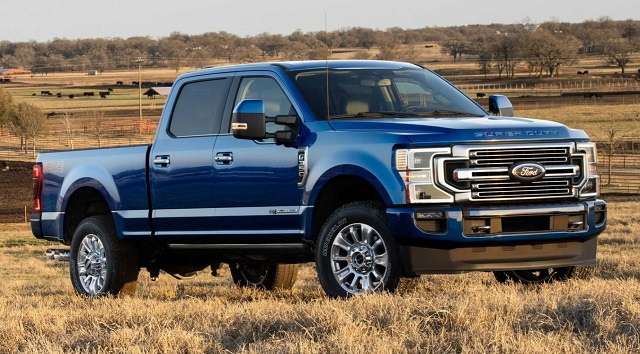 2023 Ford F-350 side look
